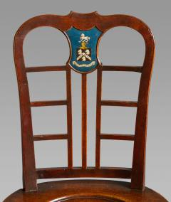 Thomas Chippendale Exceptional Set of Four George II Mahogany Hall Chairs - 980086
