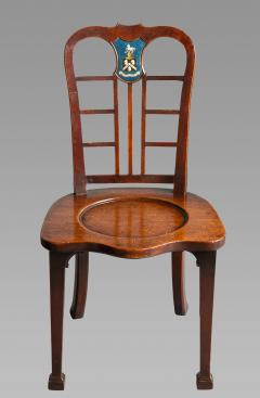 Thomas Chippendale Exceptional Set of Four George II Mahogany Hall Chairs - 980087