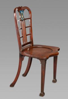 Thomas Chippendale Exceptional Set of Four George II Mahogany Hall Chairs - 980088
