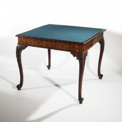 Thomas Chippendale Fine 18th Century Chippendale Mahogany Concertina Card Table - 954282