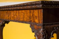 Thomas Chippendale Fine 18th Century Chippendale Mahogany Concertina Card Table - 954286