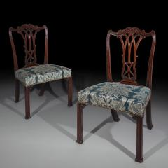 Thomas Chippendale Fine Pair of George III Chippendale Gothic Chairs - 918966