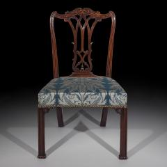 Thomas Chippendale Fine Pair of George III Chippendale Gothic Chairs - 918970