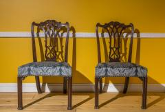 Thomas Chippendale Fine Pair of George III Chippendale Gothic Chairs - 918972