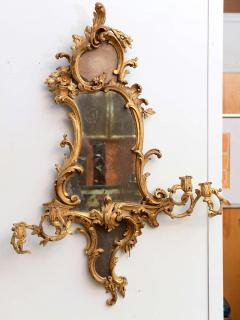 Thomas Chippendale Fine Pair of George III Giltwood Girandole Mirrors - 390999