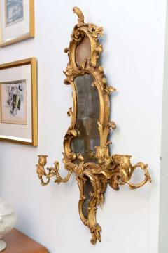 Thomas Chippendale Fine Pair of George III Giltwood Girandole Mirrors - 391004