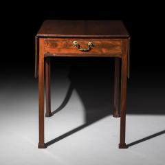 Thomas Chippendale Georgian Chippendale Drop Leaf Table - 1214774