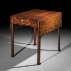 Thomas Chippendale Georgian Chippendale Drop Leaf Table - 1214776