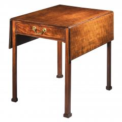 Thomas Chippendale Georgian Chippendale Drop Leaf Table - 1214779