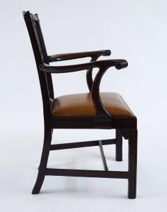 Thomas Chippendale Gothic Chippendale Mahogany Armchair - 1073504