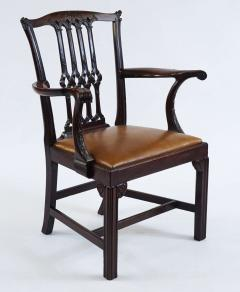 Thomas Chippendale Gothic Chippendale Mahogany Armchair - 1073506