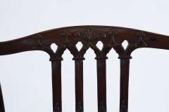 Thomas Chippendale Gothic Chippendale Mahogany Armchair - 1073507