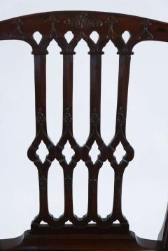 Thomas Chippendale Gothic Chippendale Mahogany Armchair - 1073508