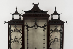 Thomas Chippendale Pair of 19th Century Chinese Chippendale Pagoda Cabinets - 601067