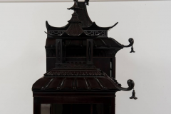 Thomas Chippendale Pair of 19th Century Chinese Chippendale Pagoda Cabinets - 601072
