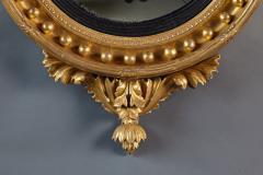 Thomas Fentham A Fine English Convex Mirror With Bentham Label - 296712