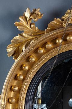 Thomas Fentham A Fine English Convex Mirror With Bentham Label - 296713