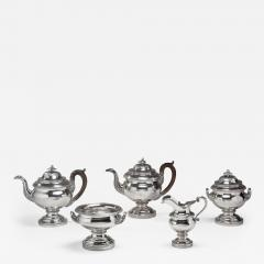 Thomas Fletcher 5 Pieces Silver Tea Service - 69596