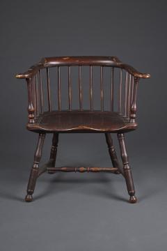 Thomas Gilpin An Early Philadelphia Low Back Windsor Armchair - 831960