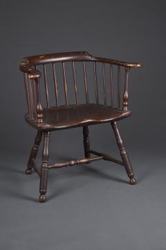 Thomas Gilpin An Early Philadelphia Low Back Windsor Armchair - 831961