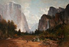 Thomas Hill Yosemite Valley - 1830590