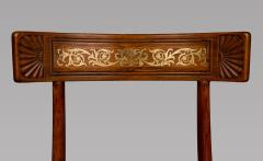Thomas Hope Set of Four Regency Faux Rosewood Klismos Chairs after a Design by Thomas Hope - 970880