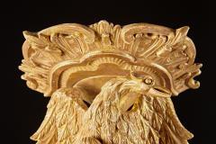 Thomas Johnson Extraordinary Carved Giltwood Wall Brackets Attributed to Thomas Johnson - 554399