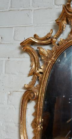 Thomas Johnson Georgian Oval Rococo Mirror - 1808705