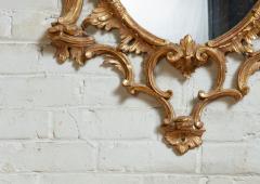 Thomas Johnson Georgian Oval Rococo Mirror - 1808706