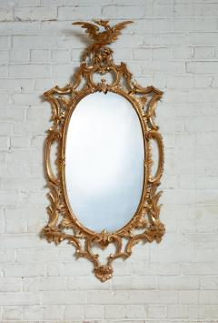 Thomas Johnson Georgian Oval Rococo Mirror - 1808708