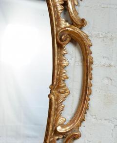 Thomas Johnson Georgian Oval Rococo Mirror - 1808709