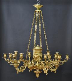 Thomas Messenger Sons A Regency Twenty Light Chandelier - 356500
