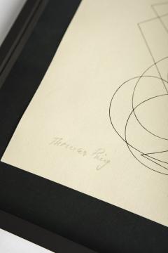 Thomas Ring Drawing Construction 1921 - 1837870