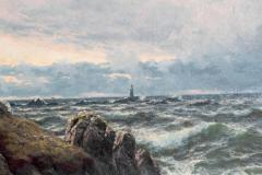 Thomas Rose Miles A Rocky Coast by Thomas Rose Miles - 1910645