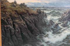 Thomas Rose Miles A Rocky Coast by Thomas Rose Miles - 1910647