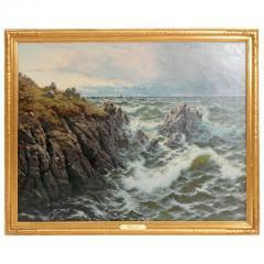Thomas Rose Miles A Rocky Coast by Thomas Rose Miles - 1910652