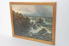 Thomas Rose Miles A Rocky Coast by Thomas Rose Miles - 1910654