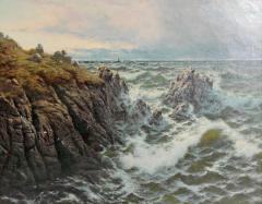 Thomas Rose Miles A Rocky Coast by Thomas Rose Miles - 1919828