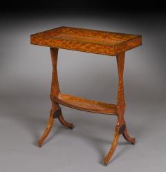Thomas Sheraton 18th Century George 111 Period Satinwood Sidetable Tricoteuse - 1187457