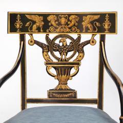 Thomas Sheraton An Early American Regency Chair After Sheraton - 650631