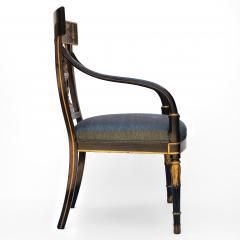 Thomas Sheraton An Early American Regency Chair After Sheraton - 650637