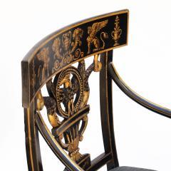 Thomas Sheraton An Early American Regency Chair After Sheraton - 650639