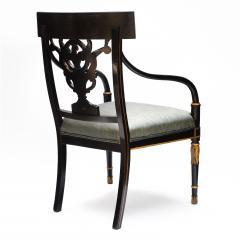 Thomas Sheraton An Early American Regency Chair After Sheraton - 650642