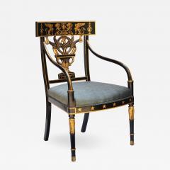 Thomas Sheraton An Early American Regency Chair After Sheraton - 695715