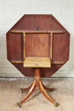 Thomas Sheraton Georgian Octagonal Satinwood Center Table - 1957916
