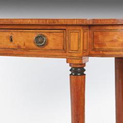 Thomas Sheraton Superb George 111 Period Satinwood Library Writing Table - 1137623