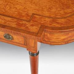 Thomas Sheraton Superb George 111 Period Satinwood Library Writing Table - 1137624