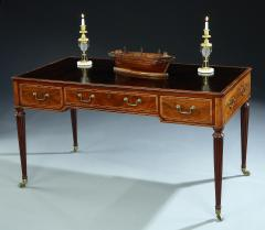 Thomas Sheraton The Shrubland Park Georgian Period Mahogany Free Standing Writing Library Table - 1205629