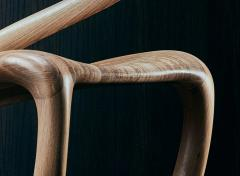 Thomas Vaughan S Chair in Ebonized Limed Oak by Object Studio - 1475232