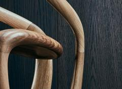 Thomas Vaughan S Chair in Ebonized Limed Oak by Object Studio - 1475236
